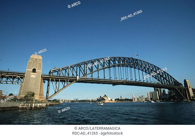 Harbour Bridge Sydney New South Wales Australia