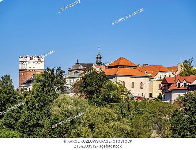 Poland, Swietokrzyskie Voivodeship, Sandomierz Skyline