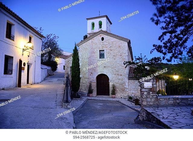 Church of San Pedro in Olmeda de las Fuentes, Madrid, Spain