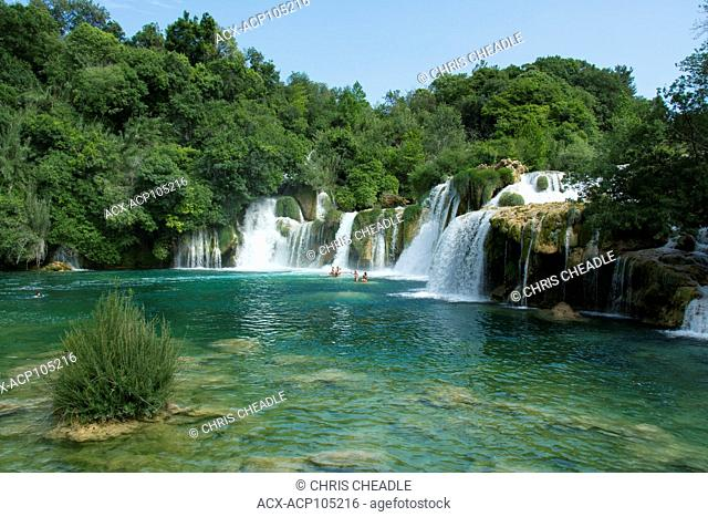 Krka National Park, Krka waterway, Croatia