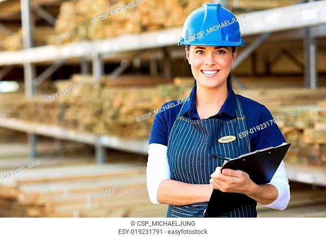 female industrial worker