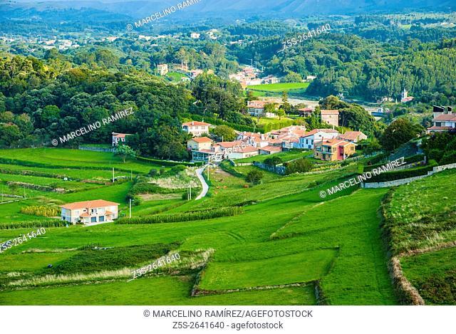 Landscape Niembro. LLanes, Asturias, Spain
