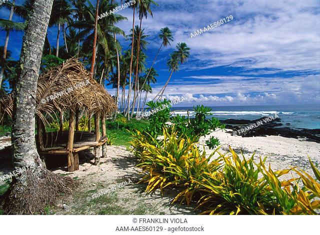 Paradise Beach, Cooper Lefaga, Upolu, W. Samoa, setting for film Return to Paradise