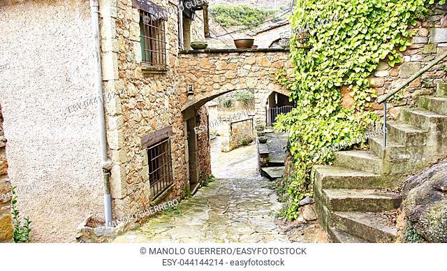 Alley of Mura, Barcelona, Catalunya, Spain