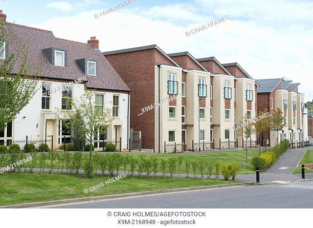 Housing in Telford, Shropshire