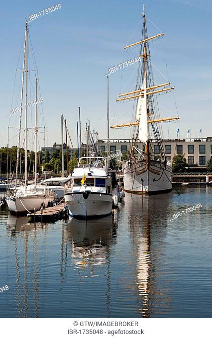 Ostend marina, Belgium, Europa