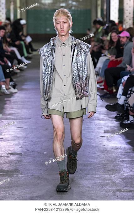 JORDANLUCA runway show during London Fashion Week Menswear SS20, LFWM Spring Summer 2020 Collection - London, UK 08/06/2019 | usage worldwide