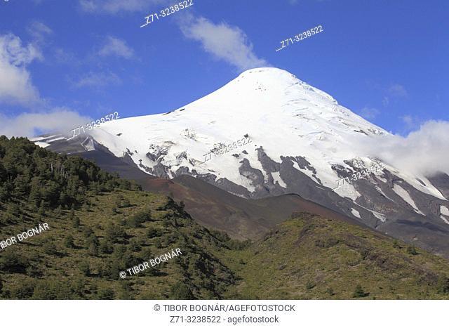 Chile, Lake District, Osorno Volcano,