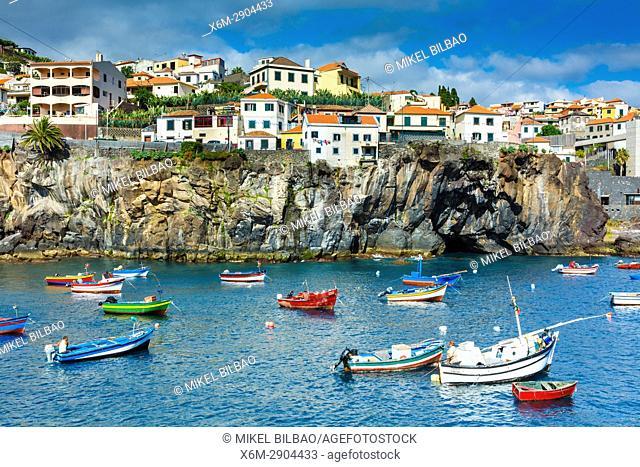 Camara de Lobos village. Madeira, Portugal, Europe