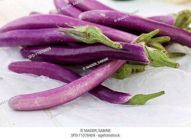 Pingtung Long aubergines