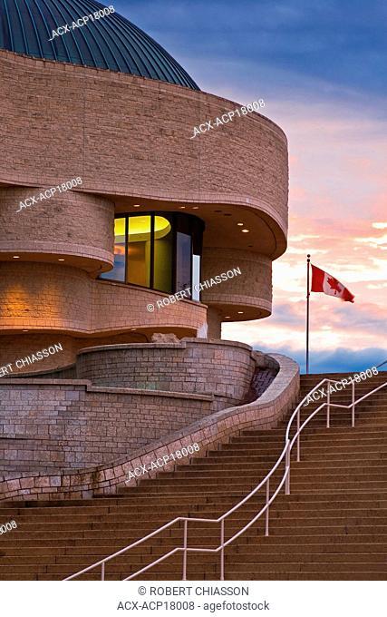 Exterior of Canadian Museum of Civilization, Hull, Quebec, Canada