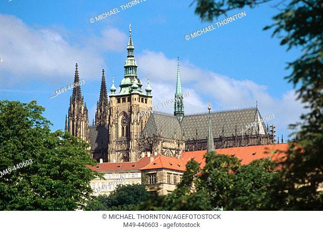 Prague castle. Czech Republic
