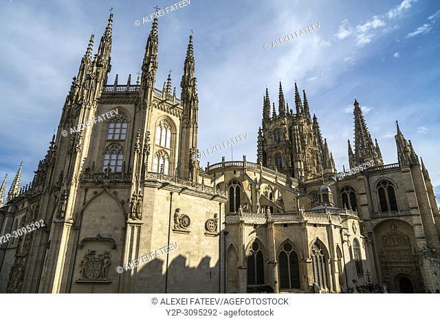 Catedral de Santa María in Burgos, Castile and Leon, Spain