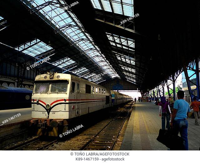 Train station, Alexandria, Egypt