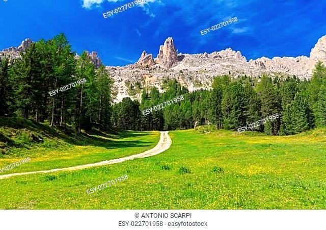 Dolomiti - Vaiolet valley