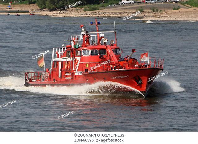 Firefighter Boat