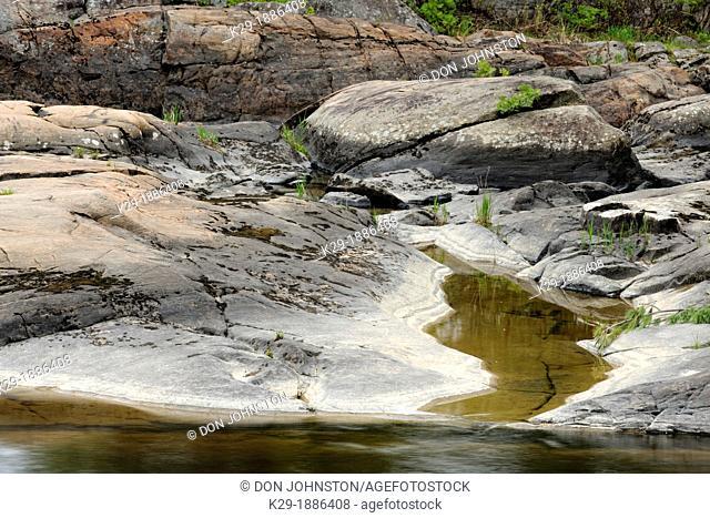 Wanapitei River , Killarney, Ontario, Canada