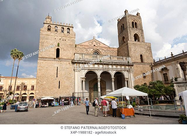 Norman Cathedral of Monreale, near Palermo, Sicily, Italy