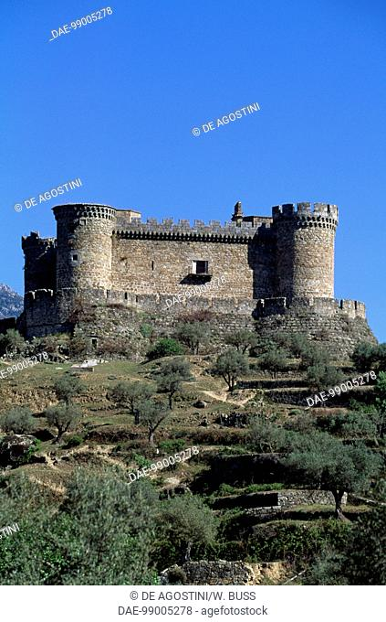 Castle of the Dukes of Albuquerque, 1462-1474, Mombeltran, Castile and Leon. Spain, 15th century