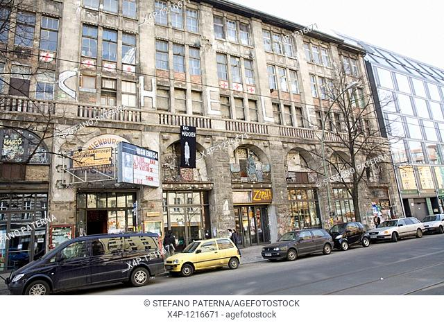 Kunsthaus Tacheles is one of the liveliest and most creative art and cultural spaces in Berlin, Germany