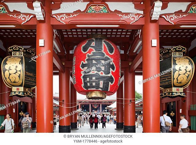 Entrance to Senso-Ji Temple, Tokyo, Japan