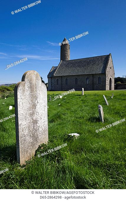 UK, Northern Ireland, County Down, Saul, Saul Church, site of the first Christian convert in Ireland made by St. Patrick