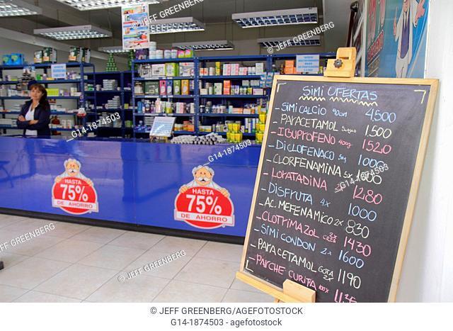 Chile, Santiago, Providencia, Avenida Libertador Bernardo O'Higgins, Farmacias Doctor Simi, pharmacy, discount drug store, medicine, health, sale