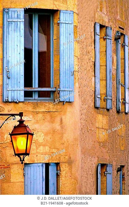 At Villefranche de Longchat, Dordogne, Aquitaine, France