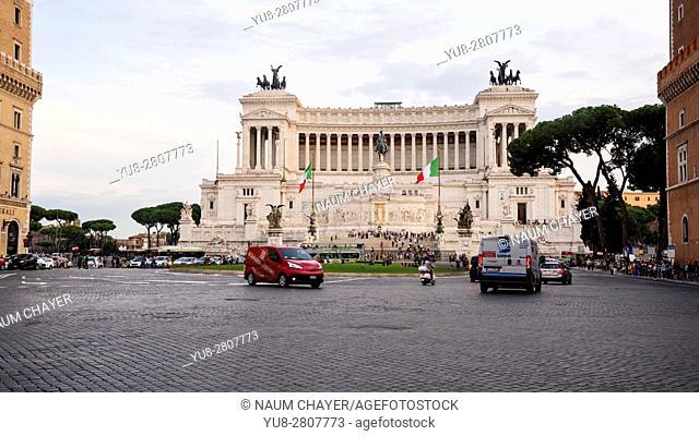 The Altare della Patria, Monumento Nazionale, Rome, Italy, Europe