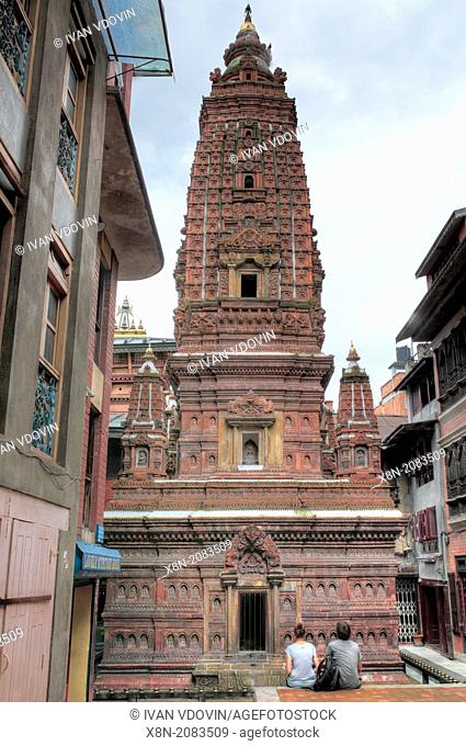 Buddhist Mahabouddha Temple (1585), Patan, Lalitpur, Nepal