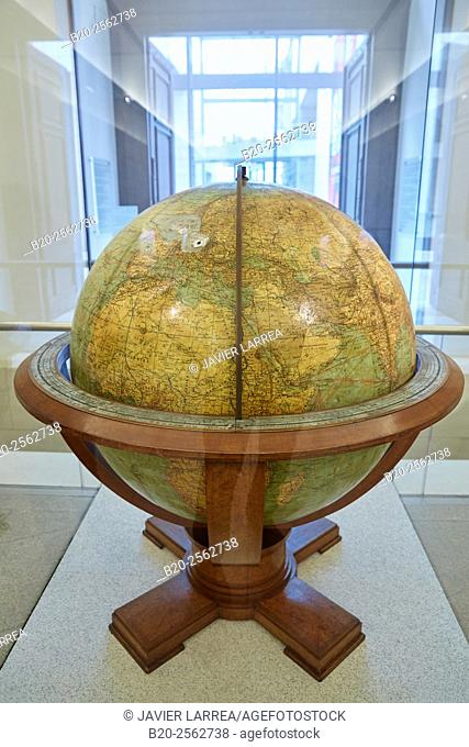 Great Columbus Globe for State and Industry Leaders, Globe produced for Foreign Minister Ribbentrop, Deutsches Historisches Museum, Berlin, Germany