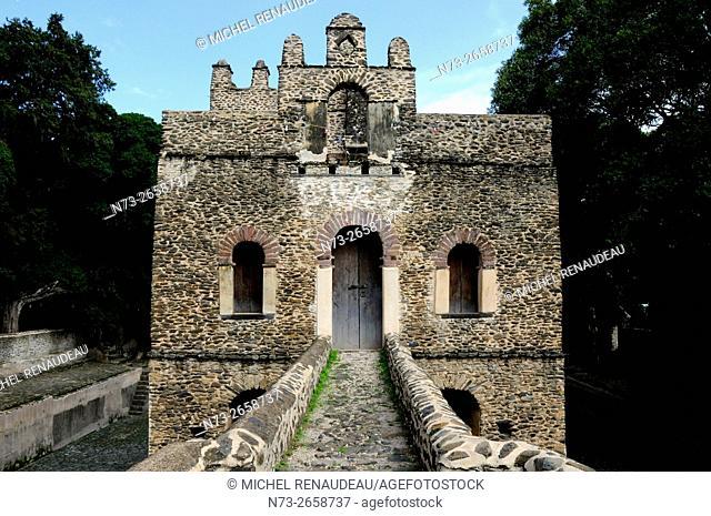 Ethiopia, Amhara Region, Gondar, Fasil Ghebbi Unesco World Heritage