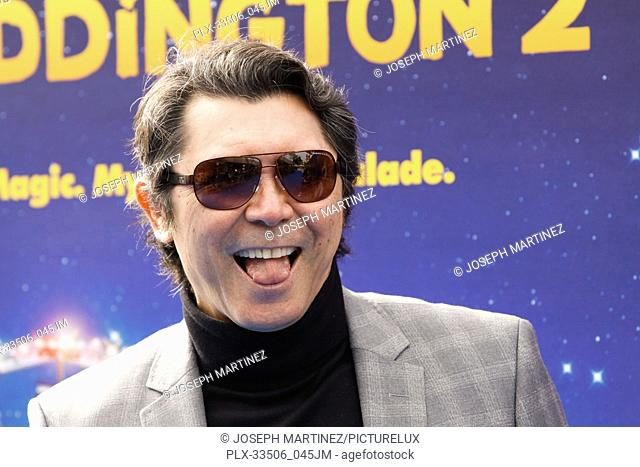 """Lou Diamond Phillips at the Premiere of Warner Bros' """"""""Paddington 2"""""""" held at the Regency Village Theatre in Westwood, CA, January 6, 2018"""