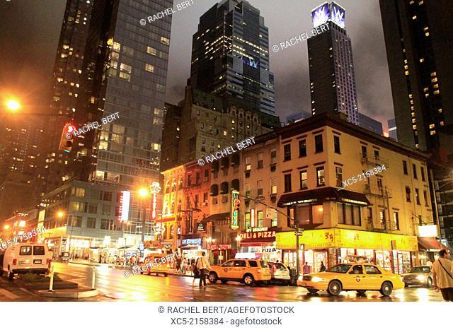 Eighth Avenue, Manhattan, New York City