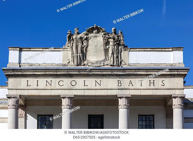 USA, New York, Hudson Valley, Saratoga Springs, Saratoga Spa State Park, Lincoln Baths