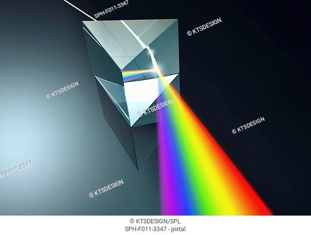 Prism, computer illustration