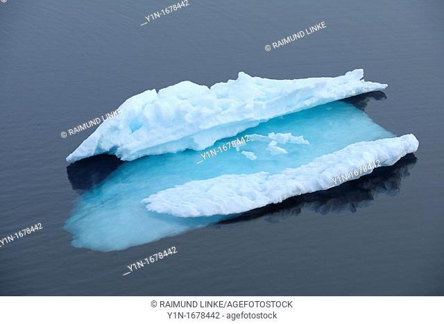 Ice Floe in the Sea, Greenland Sea, Arctic Ocean, Arctic
