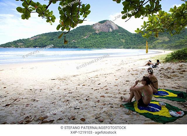 Dois Rios Beach, Ilha Grande, Brazil