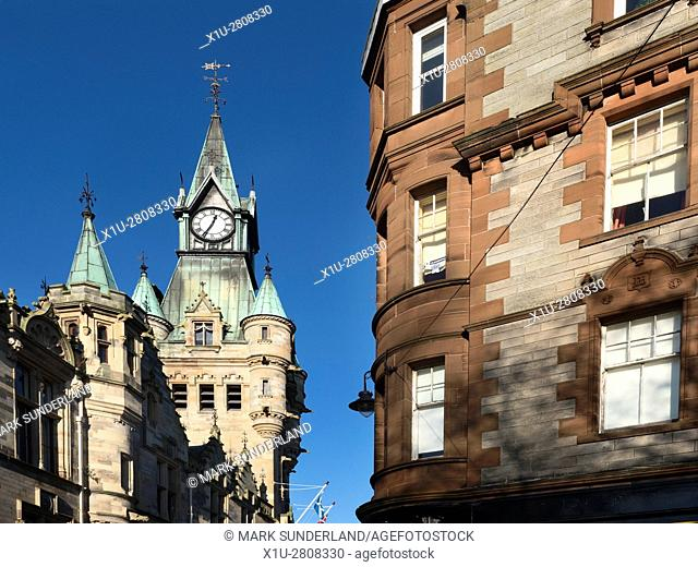 City Chambers Building Dunfermline Fife Scotland