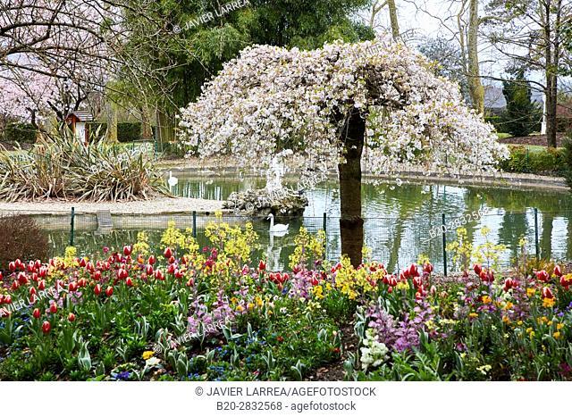 Gardens and Palace of Aiete, Donostia, San Sebastian, Gipuzkoa, Basque Country, Spain