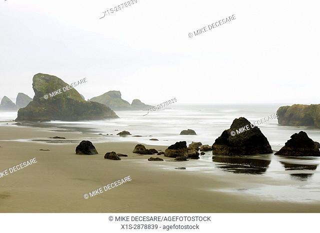Incoming Tide along the Oregon Coast