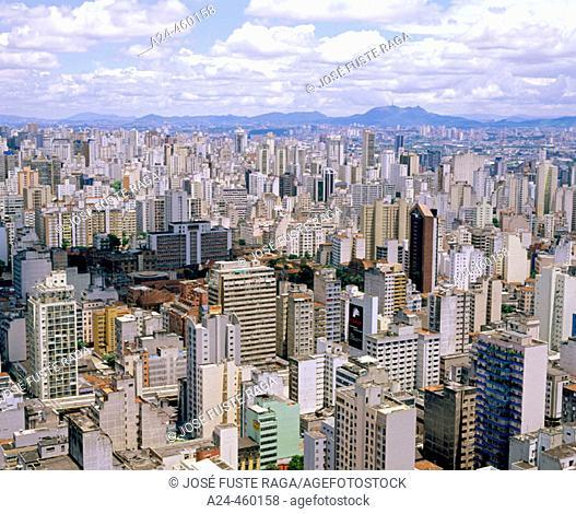 Downtown São Paulo. Brazil