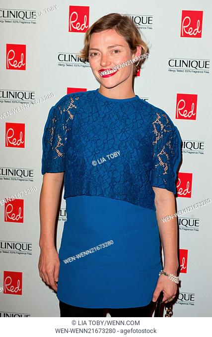 Red Woman of the Year 2014 ceremony - Arrivals Featuring: Camilla Rutherford Where: London, United Kingdom When: 03 Sep 2014 Credit: Lia Toby/WENN.com