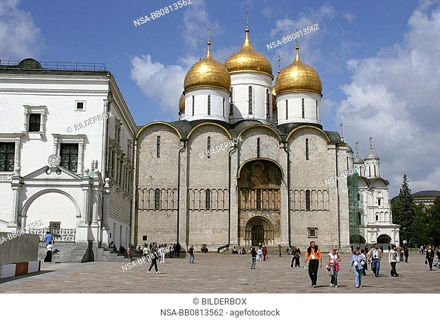 Russia, Moscow, Mariae pass away cathedral
