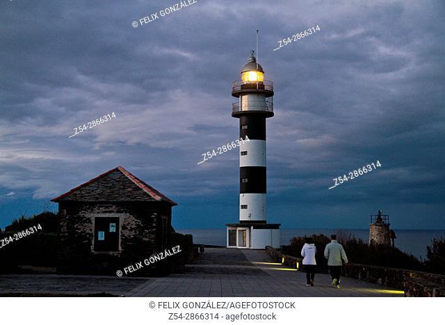 Lighthouse Cabo de San Agustin, Ortiguera Asturias, Spain
