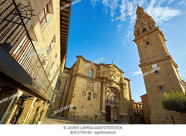 Cathedral of Santo Domingo de la Calzada, Santo Domingo de La Calzada, Way of Saint James, La Rioja, Spain, Europe