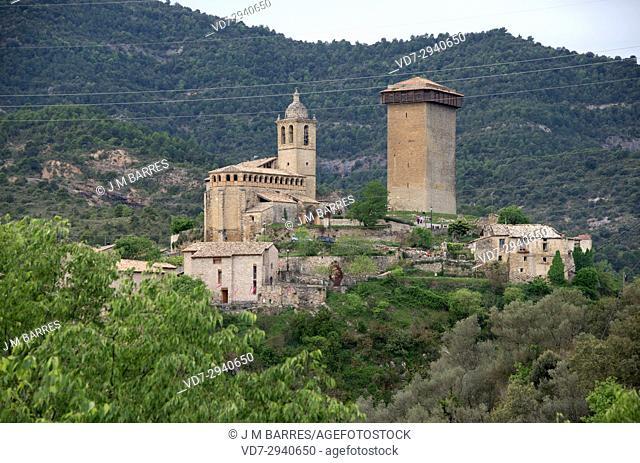 Abizanda. Sobrarbe, Huesca province, Aragon, Spain