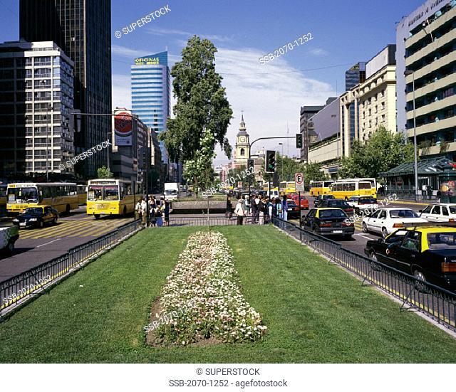 Avenida Libertador Bernardo O' Higgins Santiago Chile