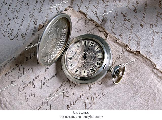 Old-time watch