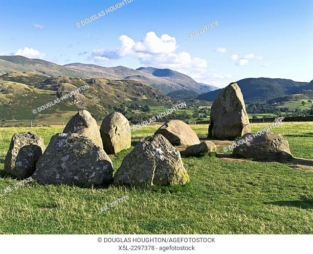 Castlerigg Stones KESWICK LAKE DISTRICT Neolithic standing